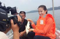 湖南临澧,拍摄黄花鱼养殖户