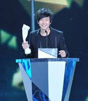 港澳台地区年度最受欢迎男歌手:林俊杰