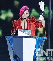 港澳台地区年度最佳女歌手:张惠妹