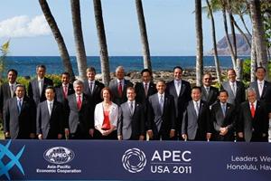 Le président chinois Hu Jintao au 19ème Sommet de l'APEC à Hawaii