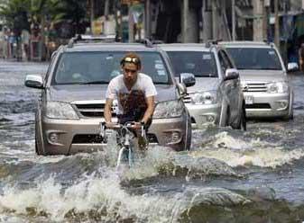 Bangkok sous les eaux