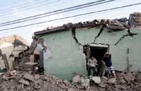 <center><h5><font color=blue>Violent séisme de magnitude 6.8, le 16 Dec, au Mexique </font></h5></center><br><h5>Les autorités mexicaines ont indiqué qu&acute;au moins une personne avait été tuée lors du fort tremblement de terre de samedi soir qui a frappé l&acute;Etat de Guerrero, sur la c&#244;te sud-ouest du Mexique.  ... </h5>
