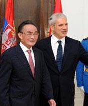 Visites de Wu Bangguo en France, en Serbie et en Suisse <br><br><br><font color=blue>[Juillet 2010]</font>