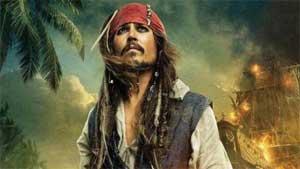 <font size=2><br>由约翰尼·德普主演的《加勒比海盗4:惊涛怪浪》(Pirates of the Caribbean: On Stranger Tides)发布最新海报,海报中杰克·史派罗船长大气凛然,眼神坚毅,这对习惯搞怪的他来说有点少见。</font>