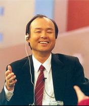 当过两天世界首富<br>孙正义——日本软银公司创始人 总裁及首席执行官