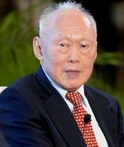 对话新加坡内阁资政<br> 李光耀——新加坡内阁资政