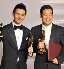 중국 영화계 최고 전문상 금계상 시상식 우한서