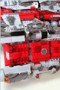 史上最牛星际2周边:乐高打造巨兽级战巡舰(二)