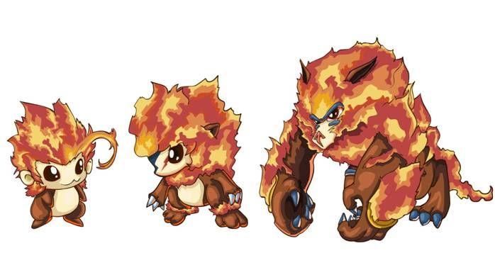 攻略指南 更多cntv游戏专区>>      配方说明:烈焰猩猩为小火猴的高级
