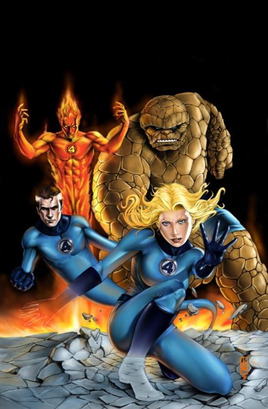 谁是你心目中的超级英雄 外媒评最佳超人插画