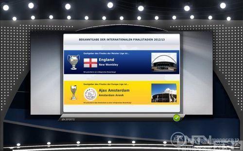 《FIFA足球经理12》最新游戏截图公布