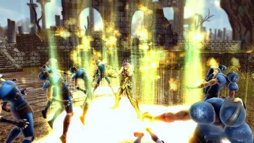 《圣斗士星矢战记》最新截图及设定图公布