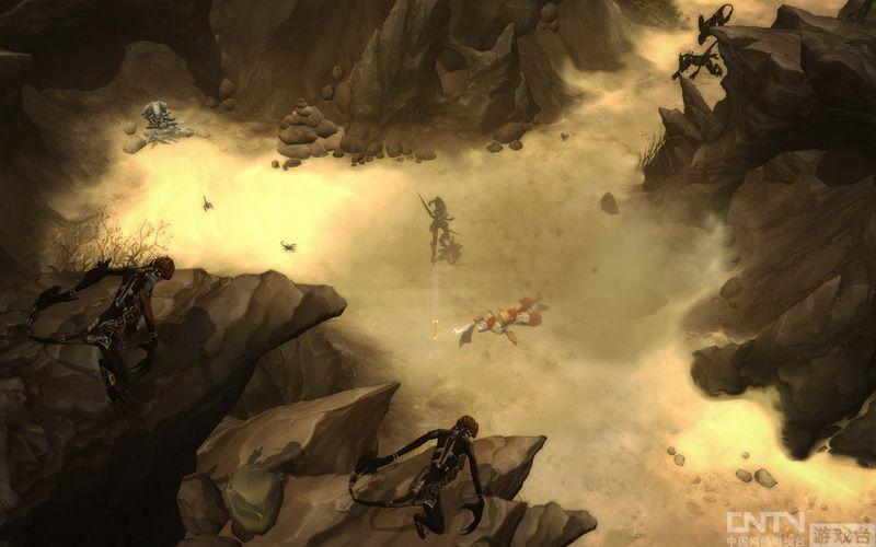 《暗黑3》亲友测试开启 全职业试玩视频欣赏