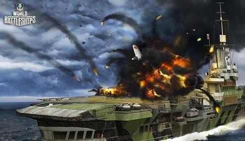 俄二战网游《战舰世界》官方网站上线