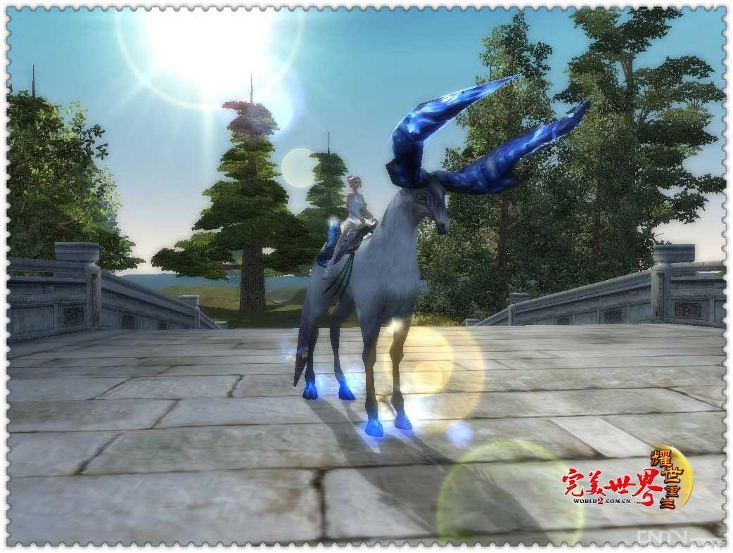 幻灵独角兽 完美世界 耀世重生 新坐骑亮相