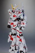 独角兽高达MG版超酷模型高清图片