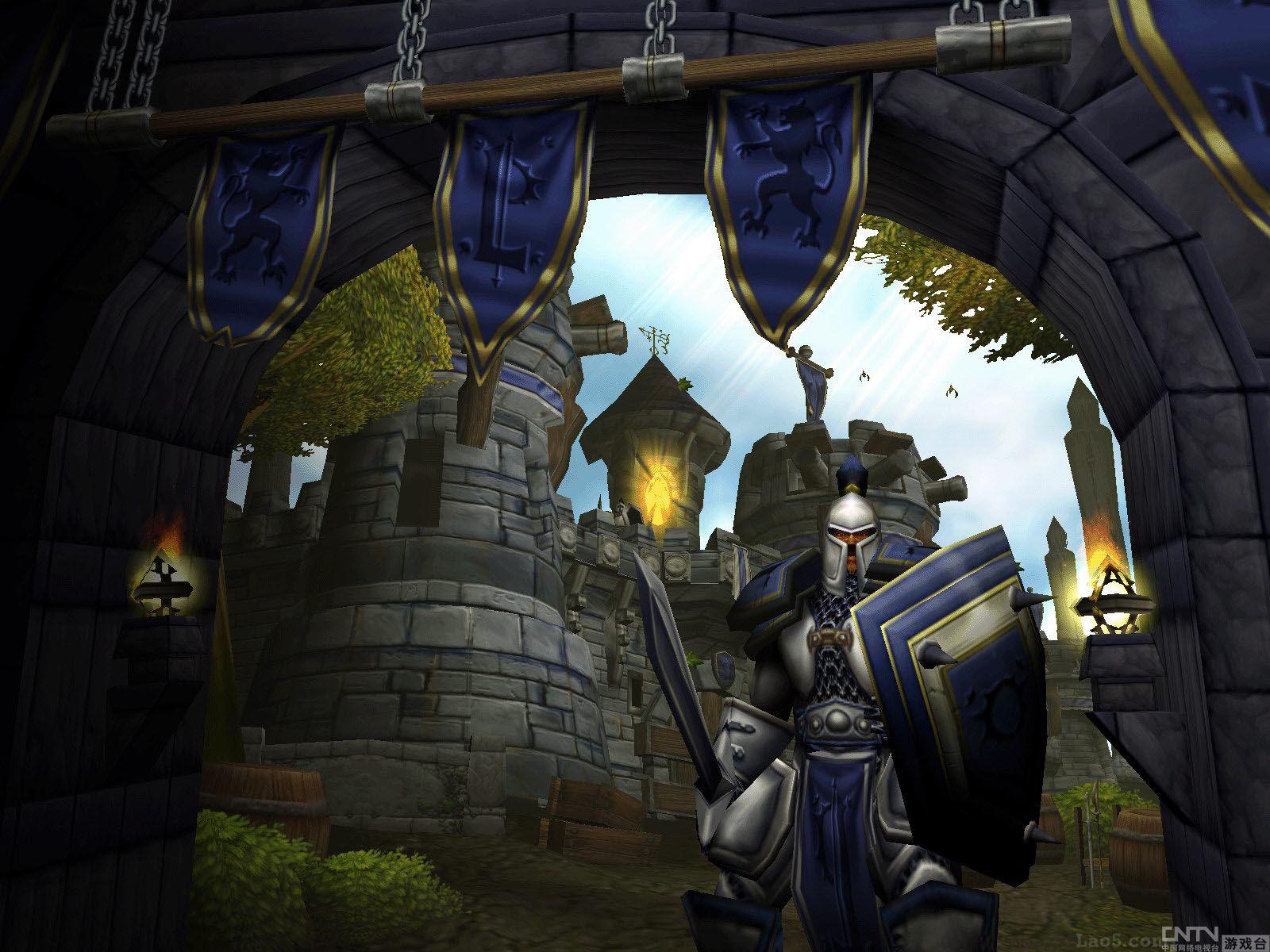 《魔兽争霸3冰封王座》高清 壁纸欣赏