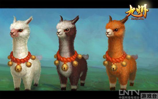 """超萌的灵兽""""草泥马""""(羊驼) 人宠一体,协同作战升级快 每一种灵兽都有其不同的功能和属性,玩家们完全可以根据自己的需要调整灵兽的属性点,完全彰显玩家个性。除此之外,玩家们拥有了一只萌宠之后,便可以和宠物进行协同作战,拥有不逊于主人的战斗力可以极大的提升玩家的战斗力和游戏效率,秒速升级一点都不费力。"""