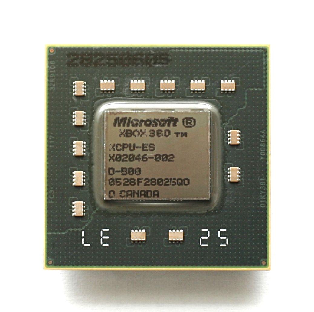 下一代Xbox处理器流片