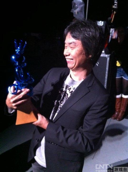 马里奥之父宫本茂进入VGA视频游戏名人堂
