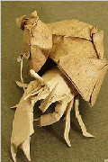 从螳螂松鼠到凤凰天鹅 超神奇折纸作品鉴赏(一)