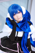 《VOCALOID》女版KAITO超可爱COSPLAY