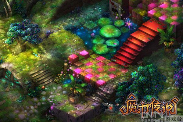《魔力传说》瑟银城场景截图    《魔力传说》蔽日森林场景截图