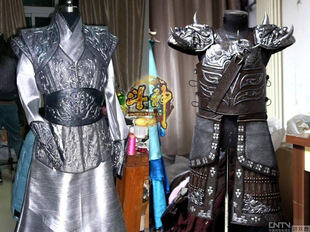 古装影视服装设计图