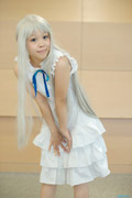 meiko可爱初中小女生cosplay