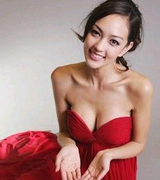 周韦彤酷似台湾第一模特林志玲