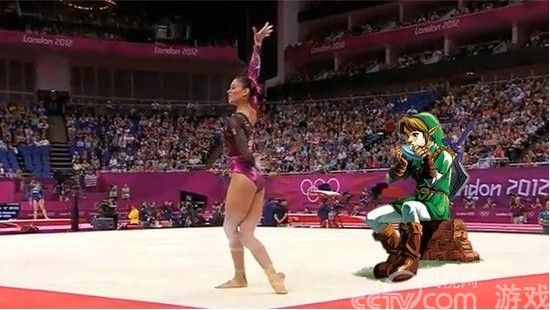 奥运再现游戏元素