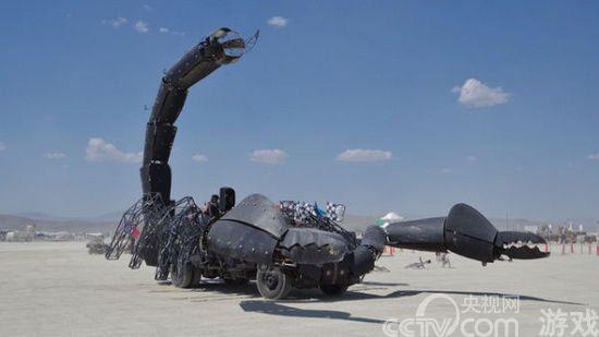 制作 世界 技术/据了解,这辆巨大的蝎子车是由一位航空航天工程师KirkJellum设计...