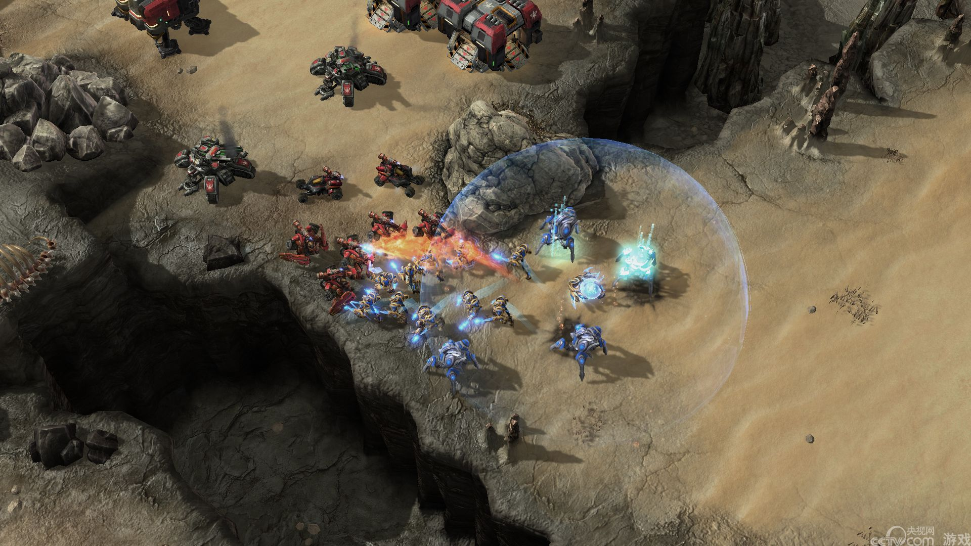 虫群之心Beta试玩:新单位模型 战斗场景图赏