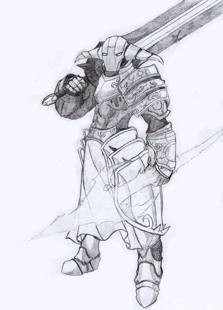 玩家笔下的DOTA2英雄 2