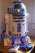 技术宅神改造!星球大战R2-D2机器人Xbox360主机
