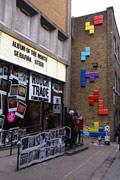 置身游戏世界 伦敦另类8位元街道