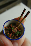 饺子也可以如此精致 超强网友打造微型饺子