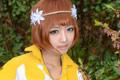 韩国萌妹COS《超能战联》森林美少女米娅