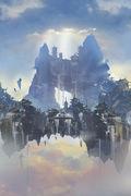 前NCsoft主美领衔制作 IMAX级画面《天空之城》震撼来袭
