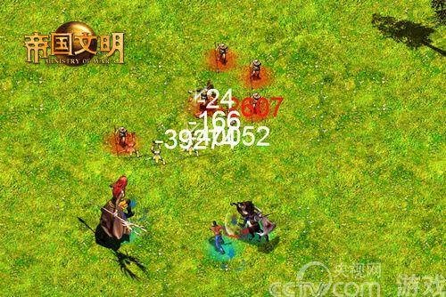 典娜和美杜莎 《帝国文明》强大的橙色战兽_厂