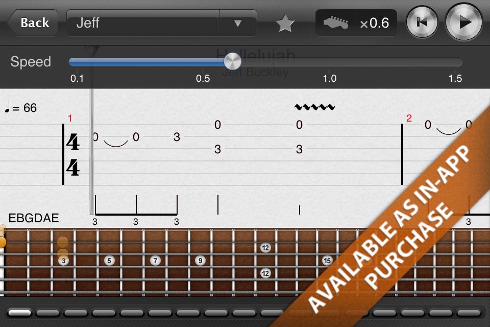 iphone吉他扫弦谱子