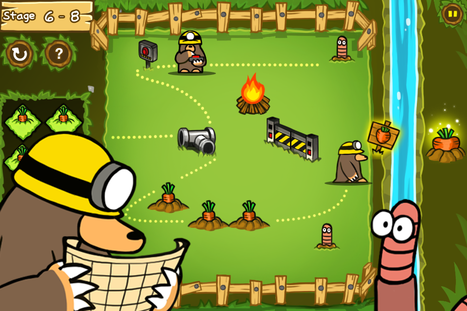 益智游戏 饥饿的鼹鼠_限时免费
