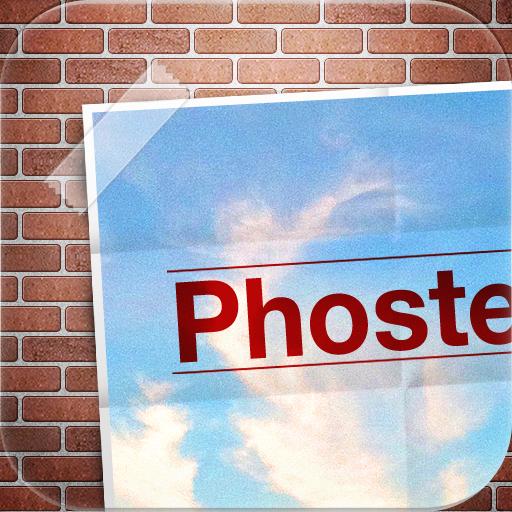 将自己的照片做成海报 - phoster for iphone_软