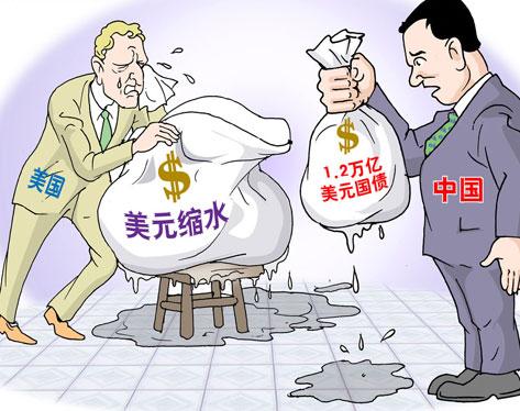 2011年6月 中国持有美国国债为11655亿美元 为美最大债权国