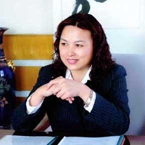 全国人大代表,长城汽车总裁王凤英