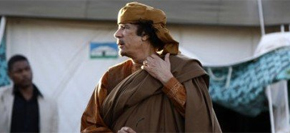 <br><font color=blue><font size=2><font color=brown>【6月27日】</font>国际刑事法院拟向卡扎菲发出逮捕令 </font></font><br><br>6月27日,位于荷兰海牙的国际刑事法院(ICC)宣布,正式对利比亚领导人卡扎菲发出国际逮捕令。国际刑事法院以反人类罪对卡扎菲发出逮捕令。这是国际刑事法院历史上第二次对一个国家的在任国家元首发布逮捕令。