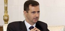 <center>叙利亚总统:巴沙尔-阿萨德</center>