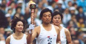 ● 北京亚运会火炬传递及开幕式盛况