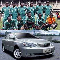 尼日利亚在世界足坛都是奇迹,奥运会的表现永远都好于世界杯,我们也期待尼日利亚在世界杯上真正实力的表现。比亚迪拥有新能源车研发的潜质,他们只需要一个好的环境和平台,他们刚研发的比亚迪F3何尝不是期待奇迹呢?