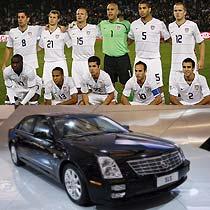 美国队一直都是世界杯中北美区出线的常客,欧产的球员让美国可以站在世界杯舞台上。在中国本土生产的凯迪拉克赛威,没有进行任何市场化改进,虽然没有取得很好的市场,但是完全可以全权代表美国汽车文化。